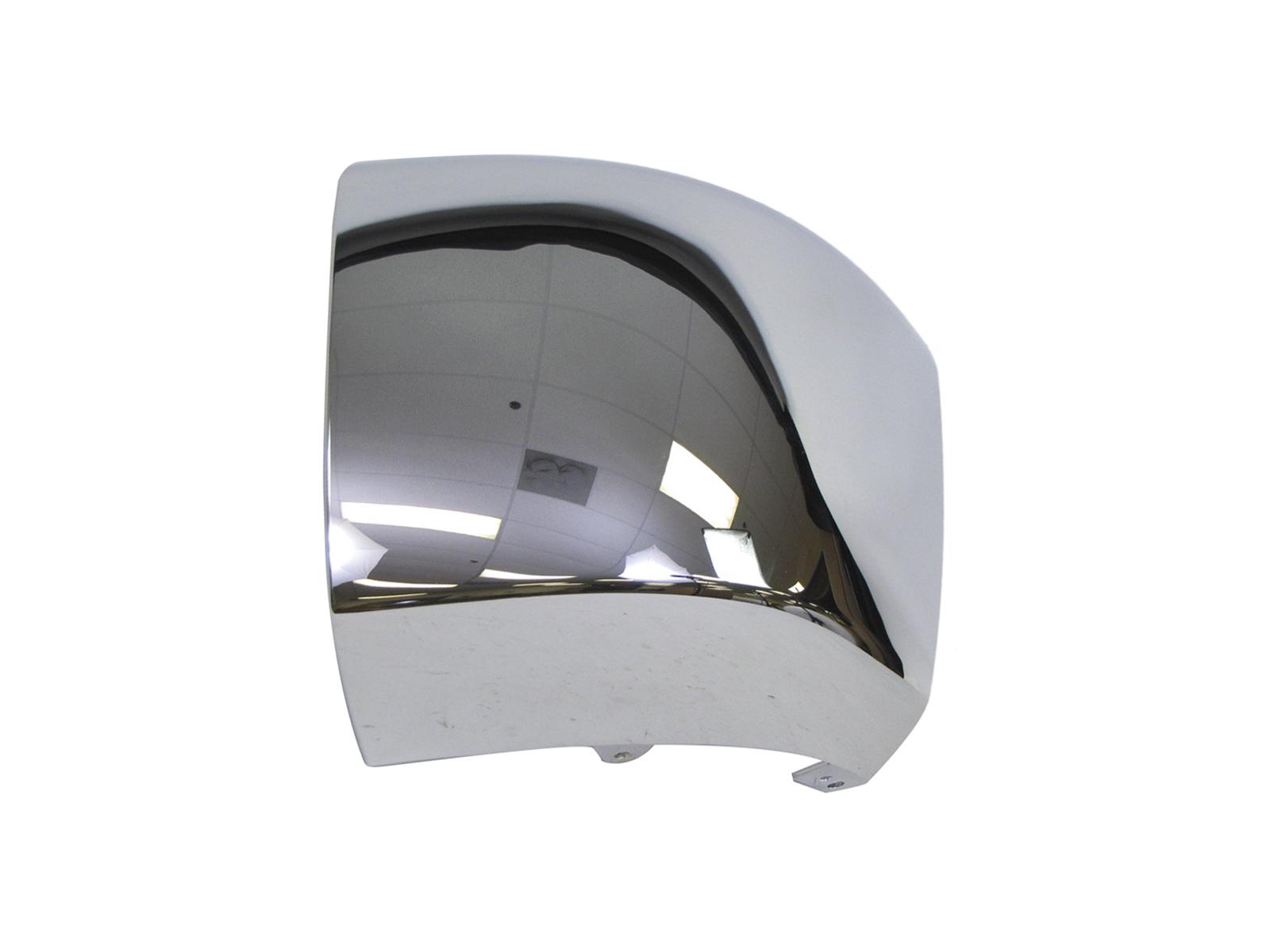 Rear Bumper Cap End Chrome LH For Chevy Silverado Gmc Sierra 2007-2013 W//O Hole